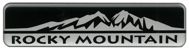 Rocky Mountain Badge Decal