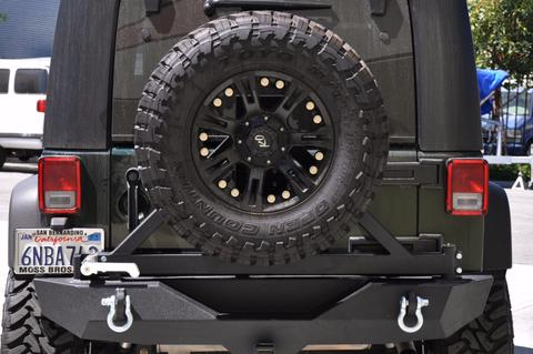 DV8 RS-1B Rear Bumper with Tire Carrier