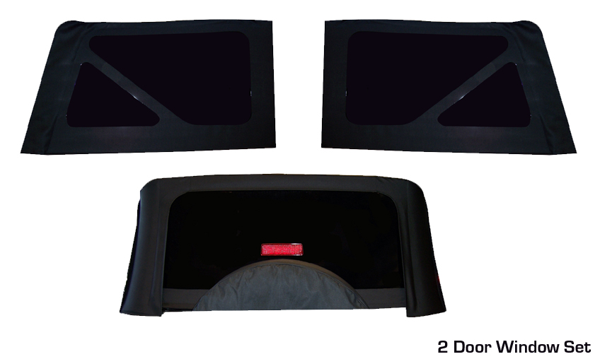 Soft Top Replacement Windows