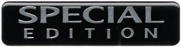 Special Edition '04 Badge Decal