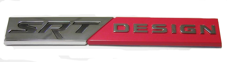 SRT DESIGN Badge Decal