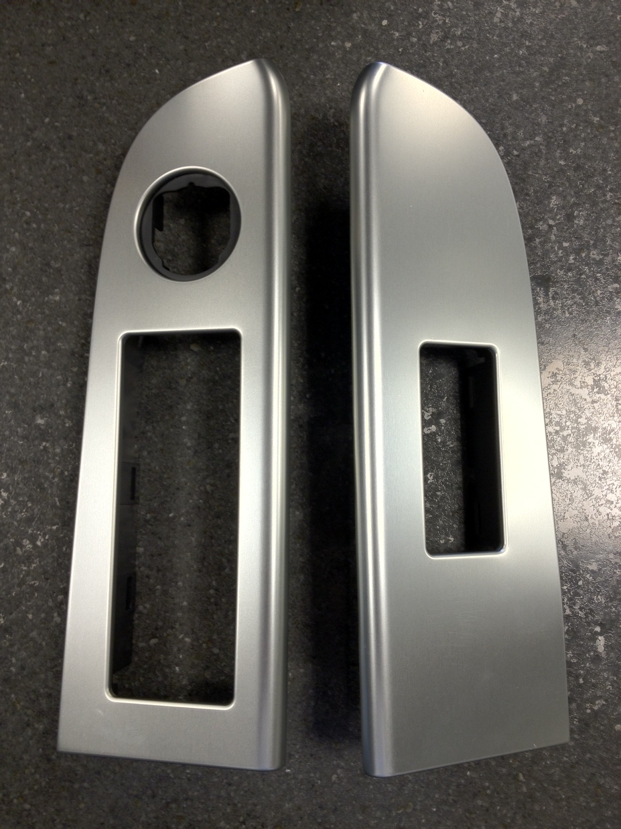 SRT8 Aluminum Door Switch Bezels