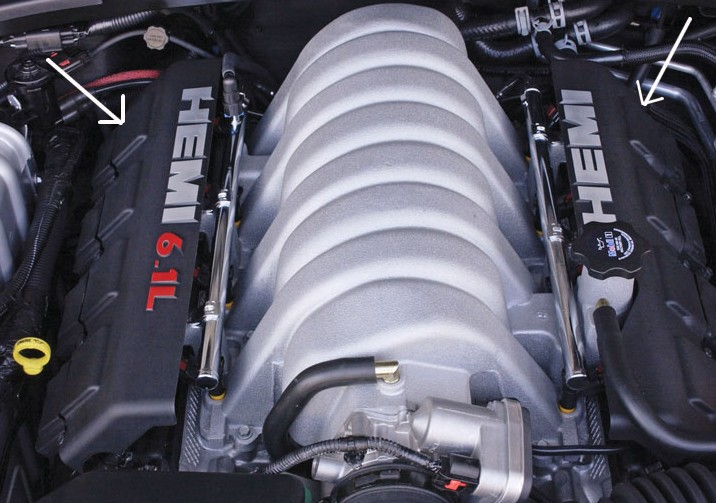 SRT8 HEMI Engine Covers