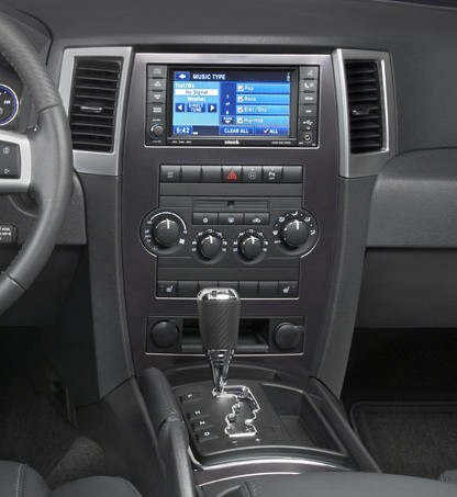 SRT8 MyGIG Trim Dash & Shifter