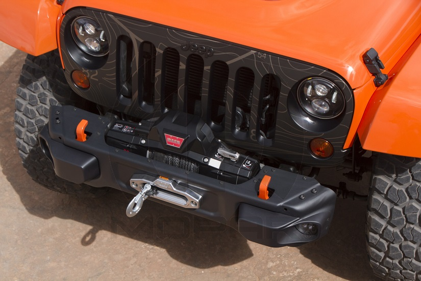 """""""Stubby"""" version of the Rubicon Hard Rock, X and 10th Anniversary Front Bumper"""
