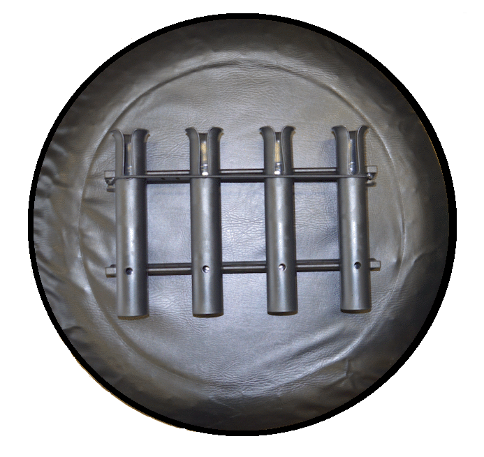 The Reel Rack - Fishing Pole Tire Cover