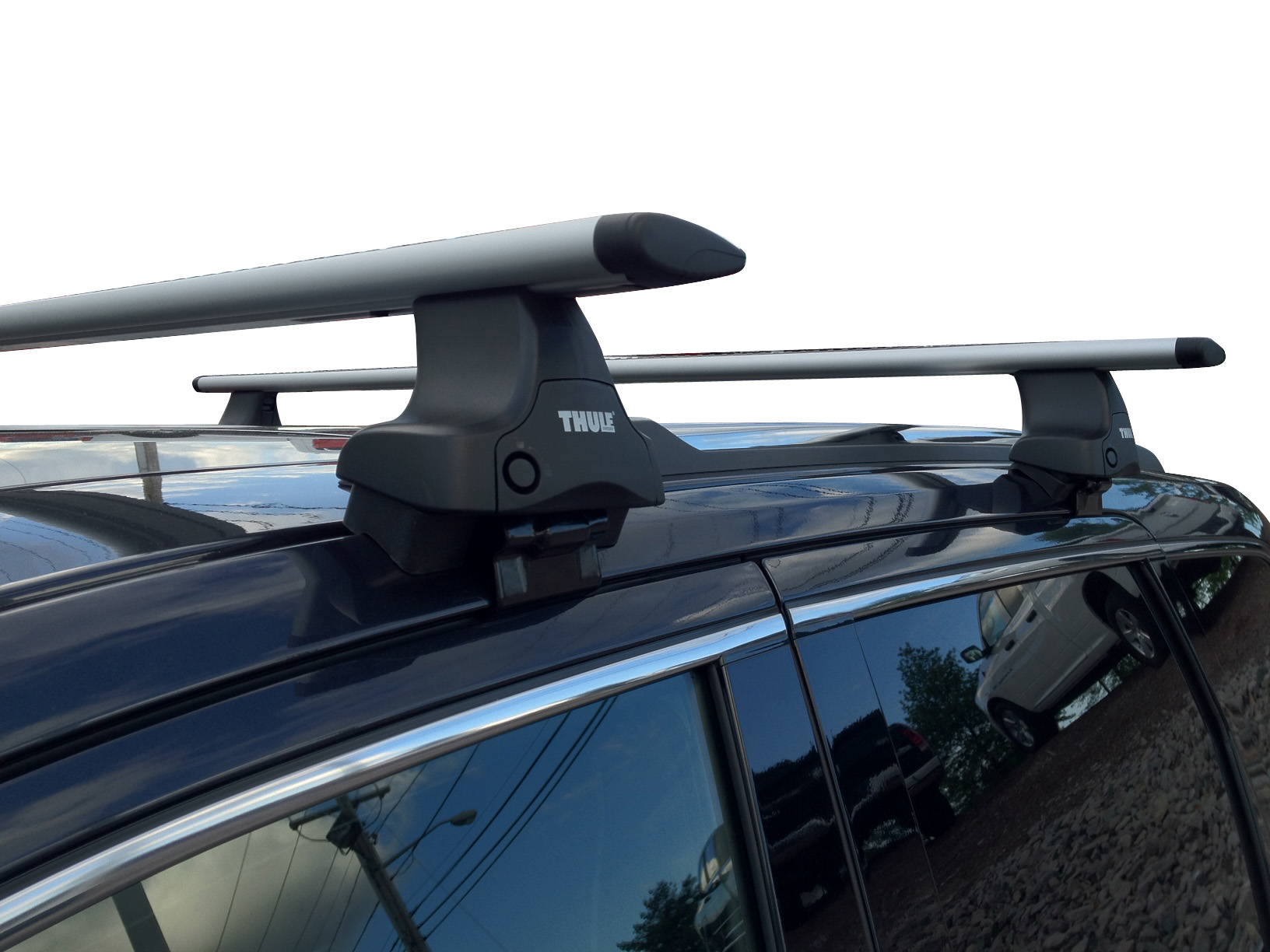 thule removable roof rack crossbars for jeep grand