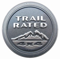 Trail Rated Badge Decal