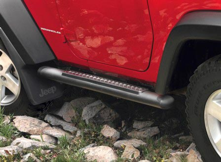 jeep wrangler tubular side steps mopar part 82210561ae 82210562ae. Cars Review. Best American Auto & Cars Review