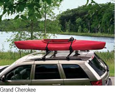 Watersports Equipment Roof Mount Carrier