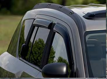 WeatherTech Side Window Air Deflector Kit
