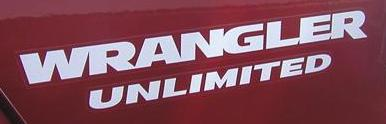 Wrangler Unlimited Decal