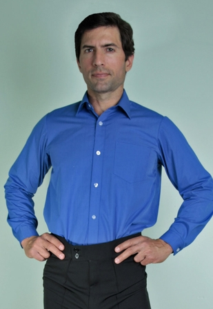 Polyester Collared Shirt