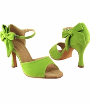 green-dance-shoes