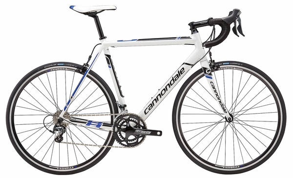 2016 Cannondale CAAD8 TIAGRA 6 Wht/Blue