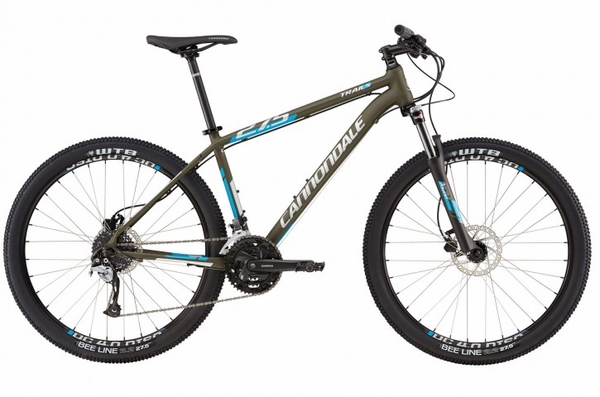 2016 Cannondale Trail 5 27.5 Green Clay/Blue XL