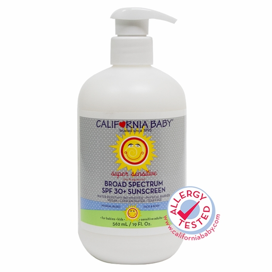 19oz Super Senstive (No Fragrance) SPF 30+ Sunscreen Lotion