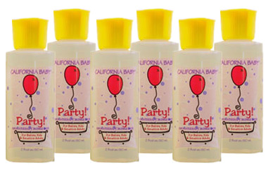 2 oz Party! Bubble Bath Party Favor Set of 6