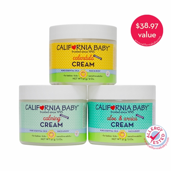 2oz Moisturizing Cream Travel Trio