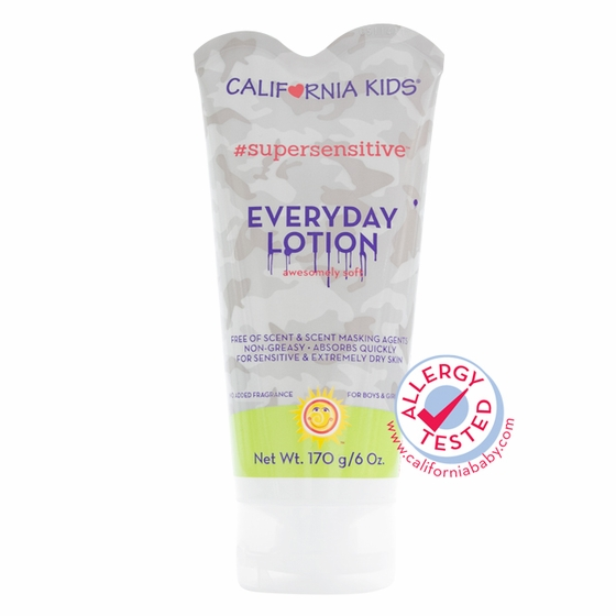 6oz California Kids #supersensitive Everyday Lotion