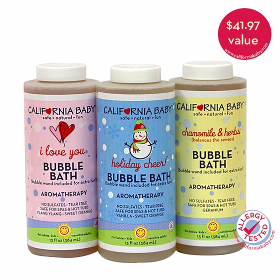 Bubble Bath Limited Edition Trio
