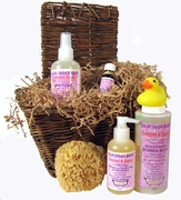 California Baby Deluxe Overtired & Cranky Aromatherapy Experience Gift Basket