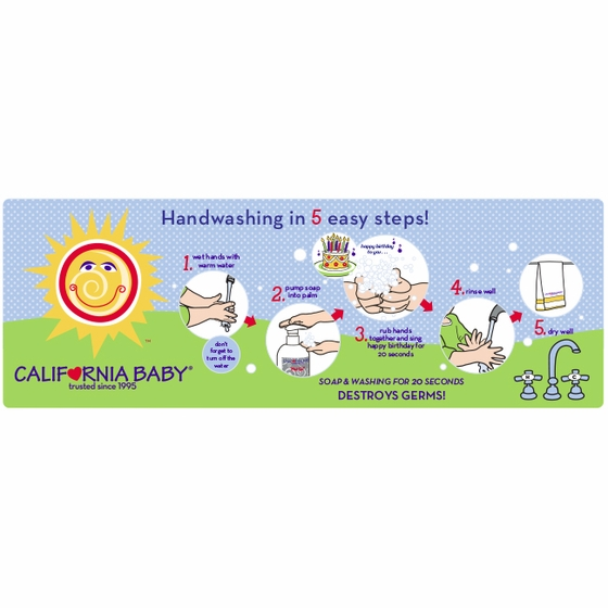 California Baby Handwashing Reminder