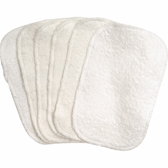 California Baby Organic Cotton Baby Wipes - Pack of Six