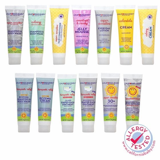California Baby® Premium Trial Pack 0.5oz Mix & Match