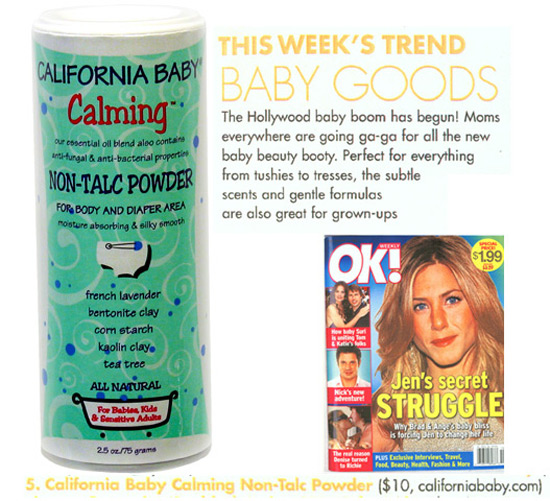 Featured Product: Calming Non-Talc Powder