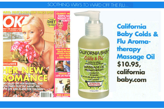 Featured Product: Colds & Flu Massage Oil