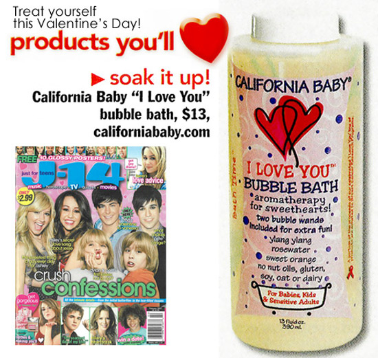 Featured Product: I Love You Aromatherapy Bubble Bath