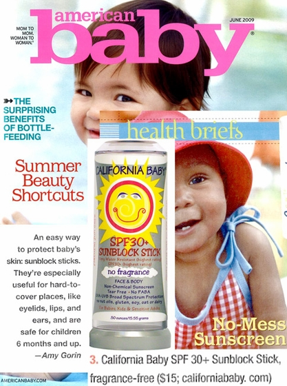 Featured Product: No Fragrance SPF 30+ Sunblock Stick