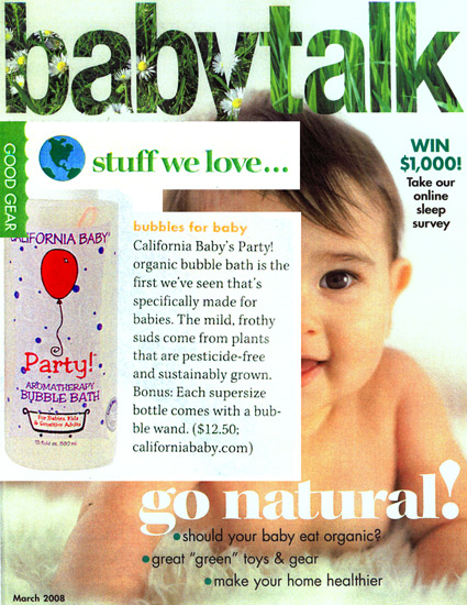 Featured Product: Party Aromatherapy Bubble Bath