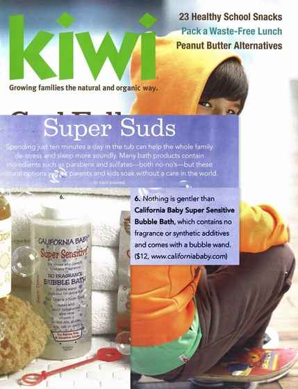 Featured Product: Super Sensitive Bubble Bath