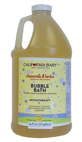 Half-Gallon Chamomile & Herbs Bubble Bath
