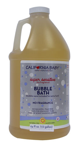 Half-Gallon Super Sensitive Bubble Bath