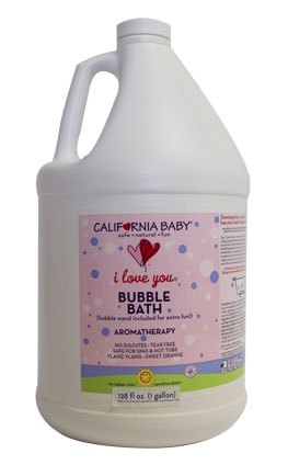 One-Gallon I Love You Aromatherapy Bubble Bath