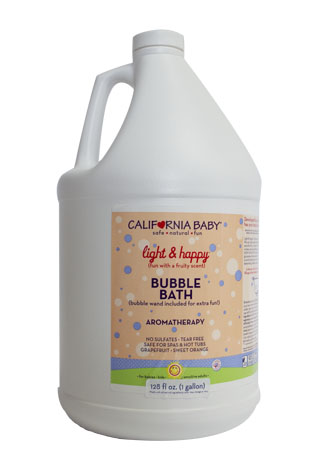 One-Gallon Light & Happy Bubble Bath