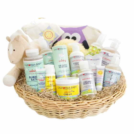 Super Deluxe Newborn Gift Basket