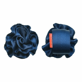 Large Rosette Indigo-SOLD OUT