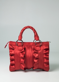 Lola Satchel Red