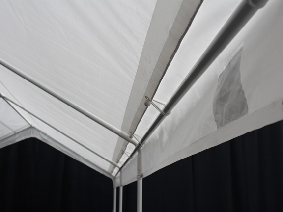 10 X 20 Universal Portable Garage Canopy with Enclosure Walls