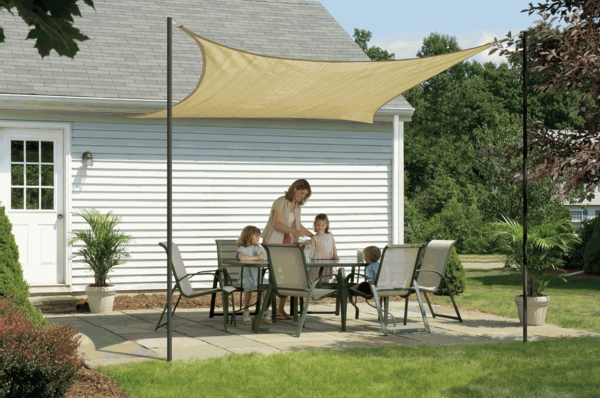 12 Foot Shelterlogic Square Shade Sail