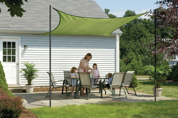 16 Foot Shelterlogic Square Shade Sail