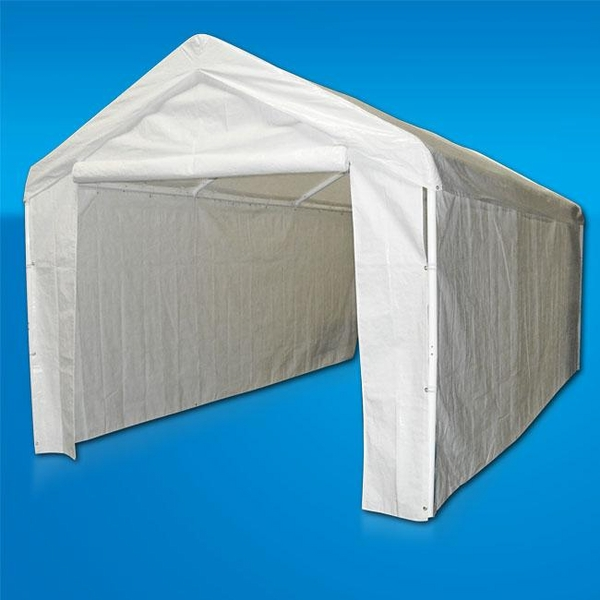 Carport enclosure sidewall kit