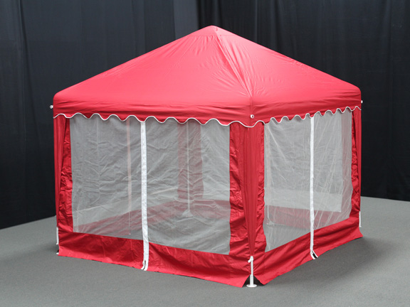Garden Party Canopy 10 X 10 Red
