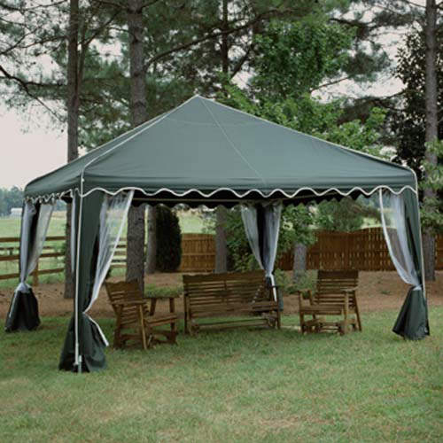 Backyard Canopy Gazebo :  Canopy Tents & Canopies > King Canopy Canopies > Garden Party C