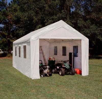 shop shelterlogic over portable roundtop image product garage to zoom tarp hover autoshelter sandstone tools