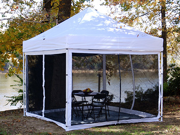 Backyard Canopy With Screens :  Canopy Parts & Accessories > King Canopy Instant Canopy Bug Screen